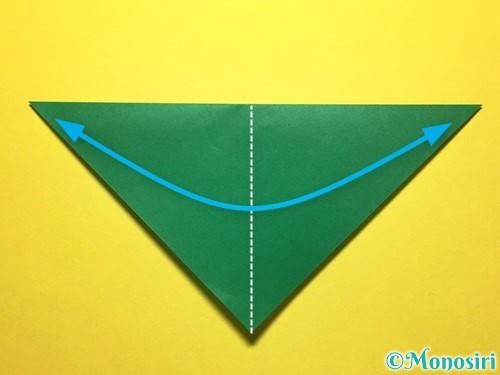 折り紙で朝顔の折り方手順50