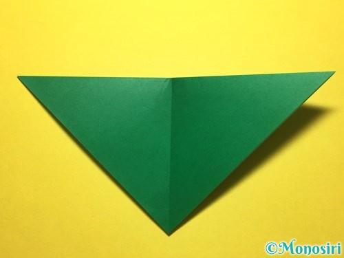 折り紙で朝顔の折り方手順51