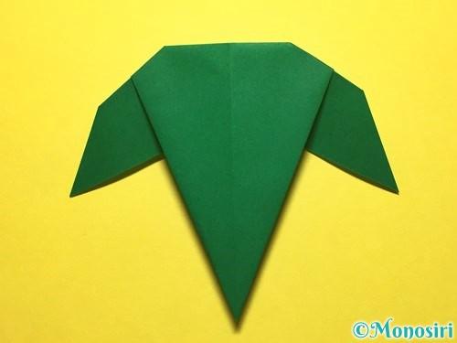折り紙で朝顔の折り方手順58
