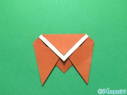折り紙でセミの折り方手順12