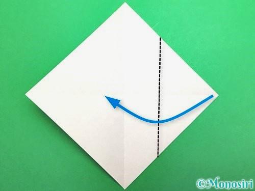 折り紙でセミの折り方手順3