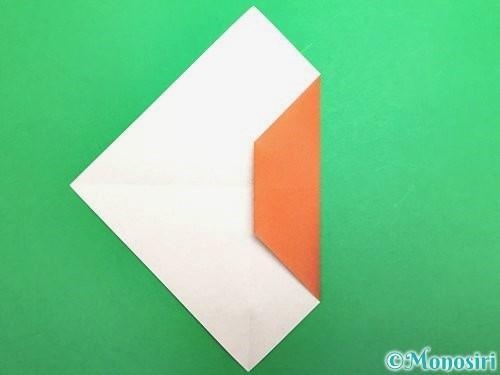 折り紙でセミの折り方手順6