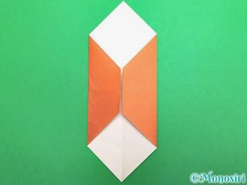折り紙でセミの折り方手順7