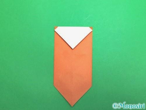 折り紙でセミの折り方手順10