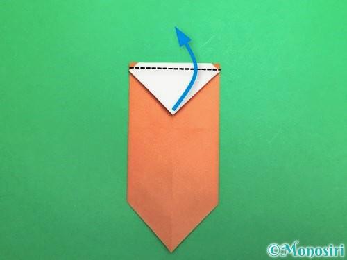 折り紙でセミの折り方手順11