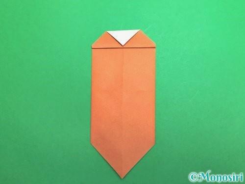折り紙でセミの折り方手順14
