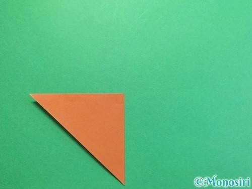 折り紙でカブトムシの折り方手順4