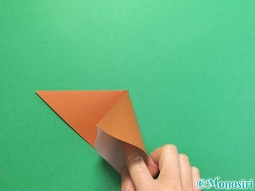 折り紙でカブトムシの折り方手順5