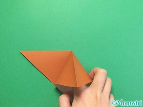折り紙でカブトムシの折り方手順6