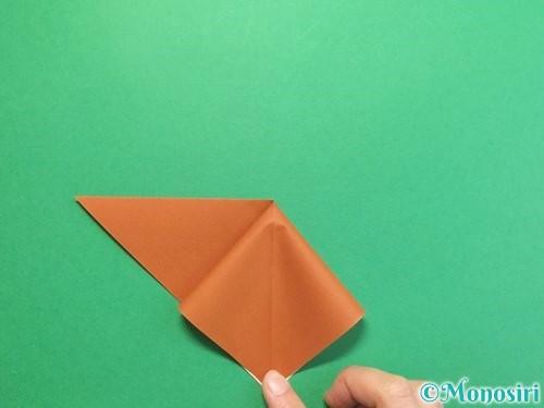 折り紙でカブトムシの折り方手順7