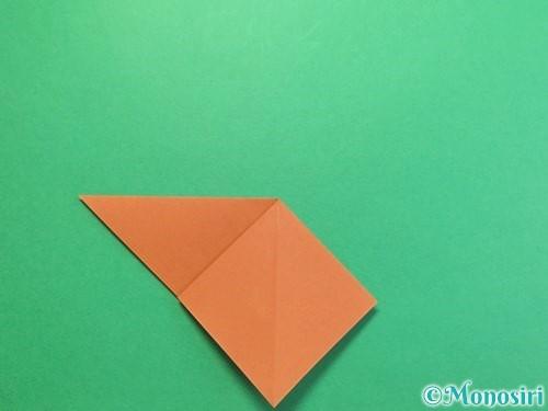 折り紙でカブトムシの折り方手順8