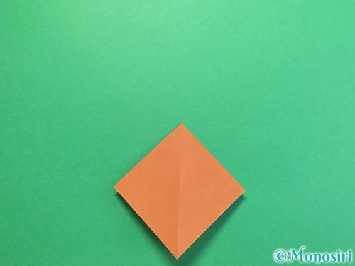 折り紙でカブトムシの折り方手順9