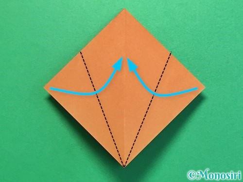 折り紙でカブトムシの折り方手順10