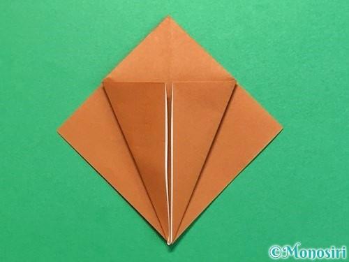 折り紙でカブトムシの折り方手順11