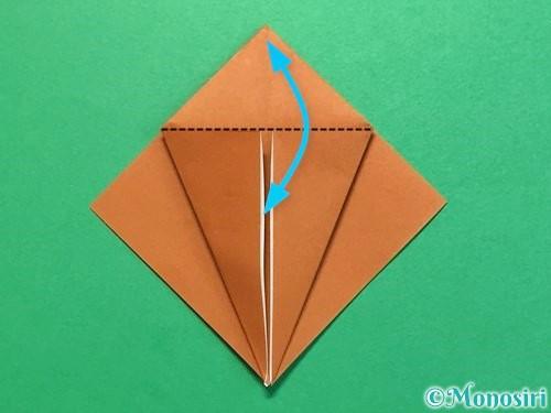 折り紙でカブトムシの折り方手順12