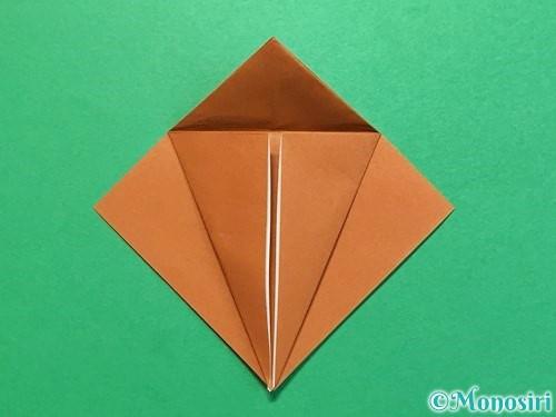 折り紙でカブトムシの折り方手順13