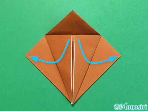 折り紙でカブトムシの折り方手順14