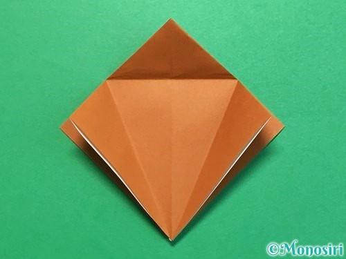 折り紙でカブトムシの折り方手順15