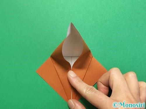 折り紙でカブトムシの折り方手順18