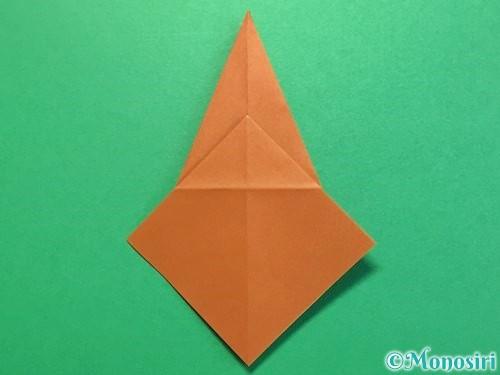 折り紙でカブトムシの折り方手順20