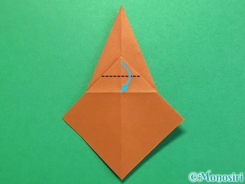 折り紙でカブトムシの折り方手順21