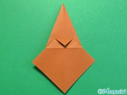 折り紙でカブトムシの折り方手順22