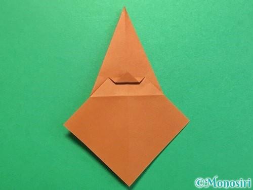 折り紙でカブトムシの折り方手順24