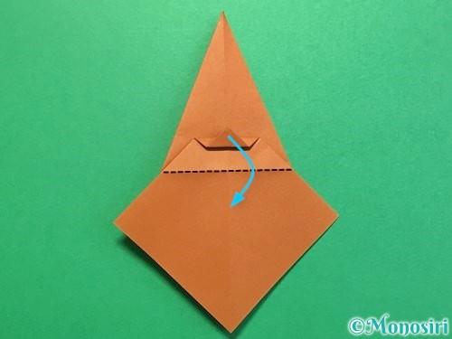 折り紙でカブトムシの折り方手順25