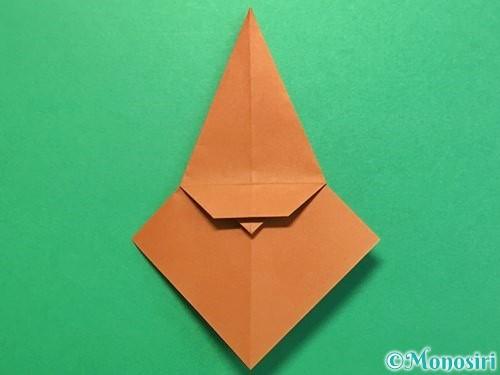 折り紙でカブトムシの折り方手順26