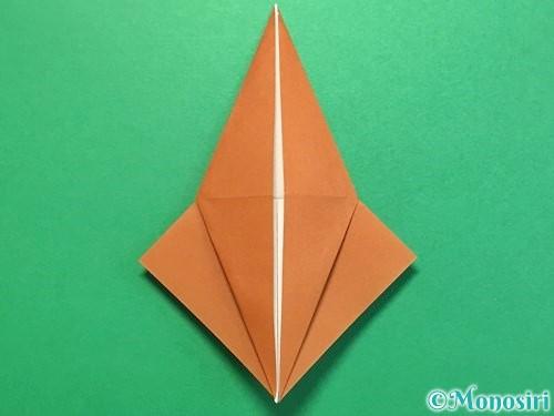 折り紙でカブトムシの折り方手順27