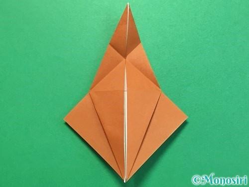 折り紙でカブトムシの折り方手順29