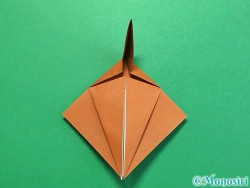 折り紙でカブトムシの折り方手順31