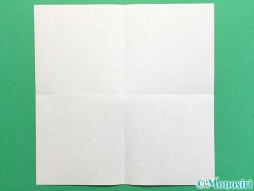 折り紙でクワガタの折り方手順2