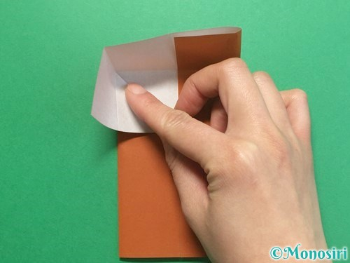 折り紙でクワガタの折り方手順8