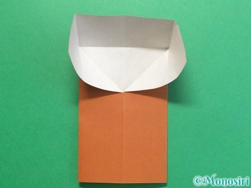 折り紙でクワガタの折り方手順9