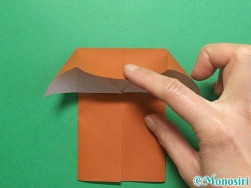 折り紙でクワガタの折り方手順10