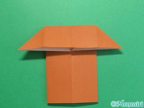折り紙でクワガタの折り方手順11