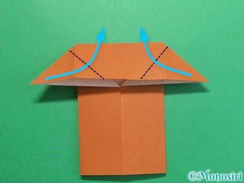 折り紙でクワガタの折り方手順12