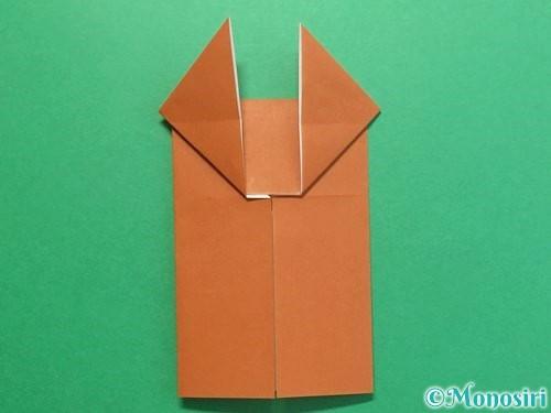 折り紙でクワガタの折り方手順13