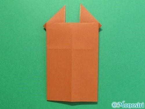折り紙でクワガタの折り方手順14