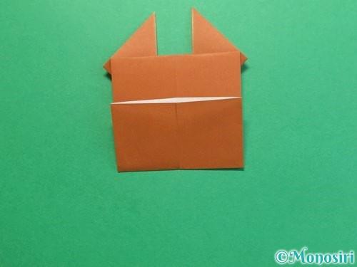 折り紙でクワガタの折り方手順16
