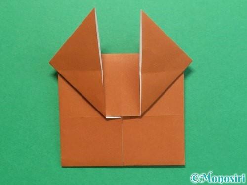 折り紙でクワガタの折り方手順17