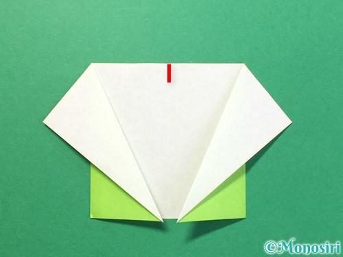 折り紙でTシャツと半ズボンの折り方手順9