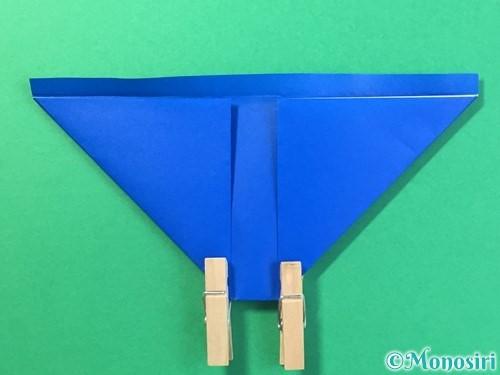 折り紙ではっぴの折り方手順16