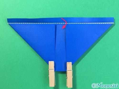 折り紙ではっぴの折り方手順17