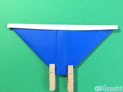 折り紙ではっぴの折り方手順18