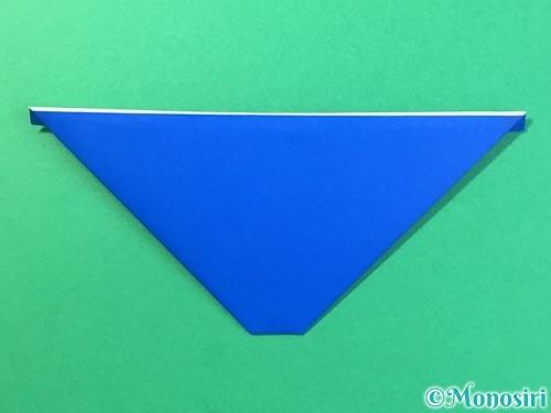 折り紙ではっぴの折り方手順19