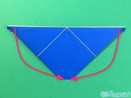 折り紙ではっぴの折り方手順20