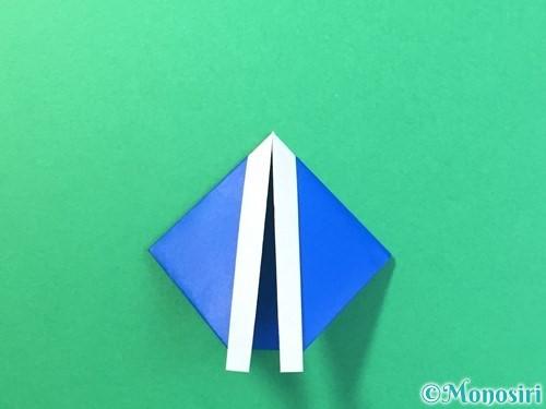 折り紙ではっぴの折り方手順21