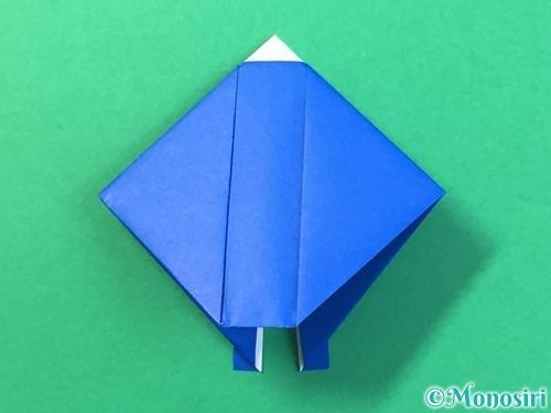 折り紙ではっぴの折り方手順22